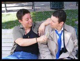 Cosplay: Dean and Castiel 16 by SharysAogail