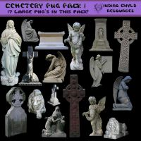 Cemetery PNG Pack Large Images by dollieflesh-stock