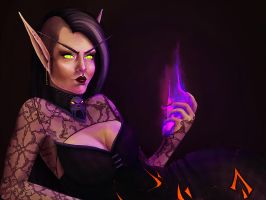 WoW: Brena by ruthiebutt