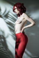 red tights by Raspberry-Jam-Model