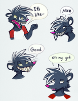 Skunk Phrases by Rosemary-the-Skunk