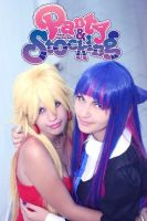 Panty and Stocking by cla666