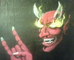 Heavy Metal Devil Horns by kennypick