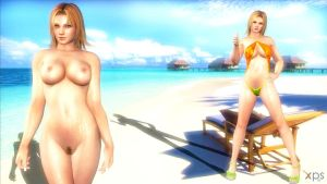 DoA5 Tina Bikini/Naked UPDATED by xo-BAHAMUT-ox
