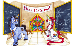 Lehrer and PrettyPaint - Make Math Fun by Tal-Ki