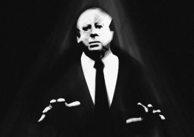 Alfred Hitchcock! by Nik-Hill