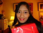 Me in red Christmas gift box costume 6 by Magic-Kristina-KW