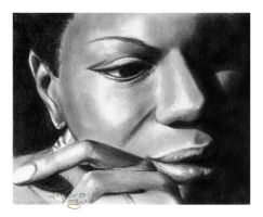 Nina Simone by nabey