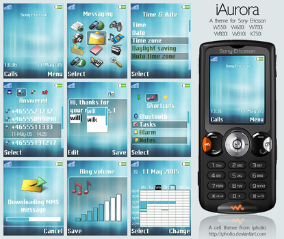 iAurora For Sony Ericsson by ipholio