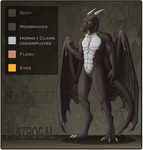 C - Reference - Anthro Mazrogal by Jewel-Thief