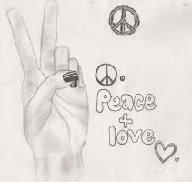 peace and love by element7374