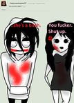 Ask Jeff The Killer-Question 16. by MikaelBratLoni
