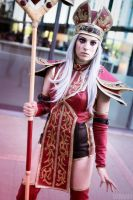 High Inquisitor Sally Whitemane cosplay -WoW by Drawbella