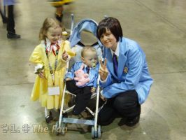 More Ouran Family cosplay by Khiorii