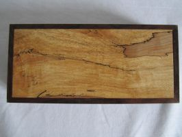 Another Spalted maple box by DMSscroller