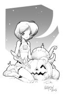 Gold Halloween 02 by Dhutchison