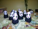 No Face ARMY by AdorkableByDesign1