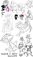 : Homestuck And Pokemon Sketchdump : by ToxicOxygen