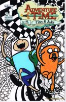 Adventure Time sketch cover by NickMockoviak