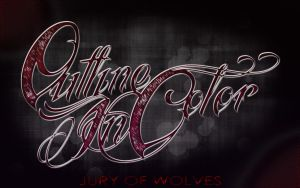 Outline in Color Wallpaper 1440x900 by HarmoniousDesigns