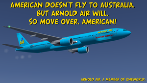 Arnold Air: Move Over American postcard by dev-catscratch