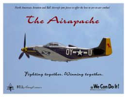 NAA + Bell P-57A Airapache by Bispro