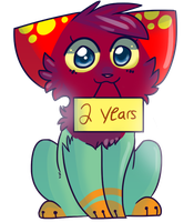 Two Years by raddily