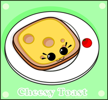 Cheesy Toast by CitricLily