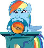 Dash with gyro bowl by Grandilfromponychan