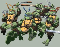 Teenage Mutant Ninja Turtles by Dane-E5R