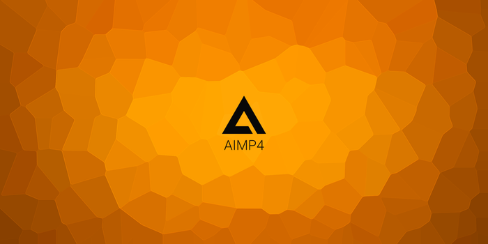 AIMP wallpapper crystal 1 by Aleksandr009