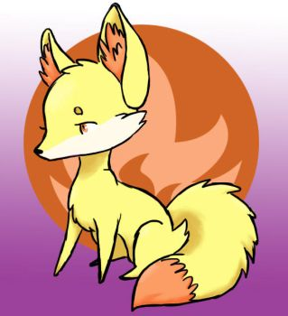 Fennekin by LeluDallas