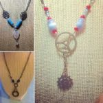My new line of necklaces by disneyangel89