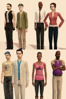 Left 4 Sims 2 by Sweet-Nectarine