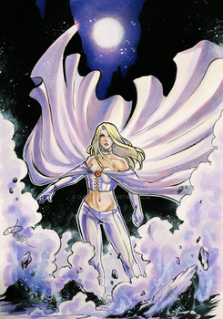 Emma Frost by Darboe