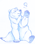 Bubble bear by CunningFox