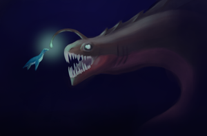 OceanMonster by dottedwood