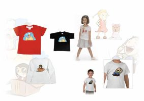 T-shirt for Kids by Y-a-n