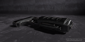 Weapon Texturing by JuanJoseTorres