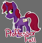 Professor Fall Commission Badge by MaquettePonet