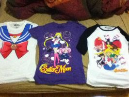 Latest Sailor Moon t-shirts. by TMNTISLOVE