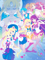 Sailor Moon - Fighting Evil By Moonlight by Firefly-Raye
