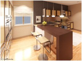 F.Showroom - Kitchen 02 by Semsa