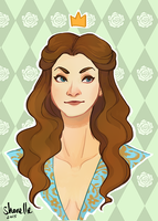 game of thrones - margaery tyrell by shorelle