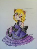 Gothic Lolita Mary by The-SILENT-assistant
