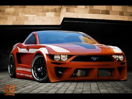 Mustang Concept by jhoncolle