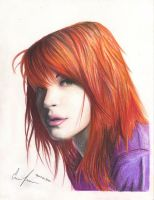 Hayley Williams by inoceze7