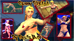 Cammy Bikini (SSF4AE) by BrutalAce