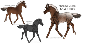 A2502 Foal Design Holder by DreamCatcher-Stable