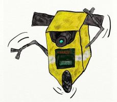 Dancing Claptrap by Asijan